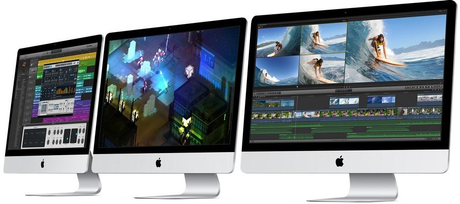 Apple iMac kompiuteriai