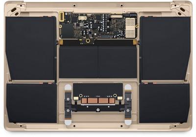 Apple MacBook 12 baterija visai dienai