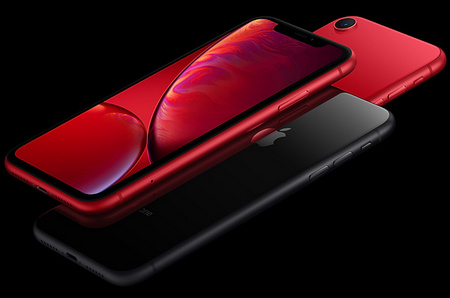Apple iPhone XR dizainas