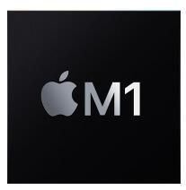 Apple M1 lustas