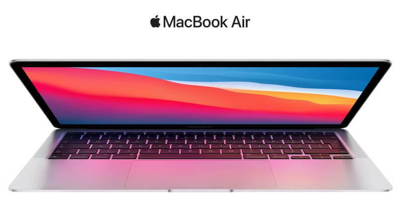 Apple MacBook Air su naujuoju M1 lustu