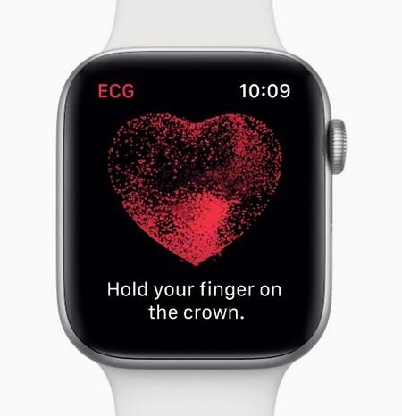 Apple Watch 4 Health Monitor